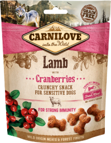 Carnilove crunchy hondensnack Lamb with Cranberries