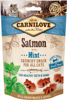 Carnilove crunchy kattensnack Salmon with Mint